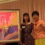 公益畫家蘇芬妮斯芭 大能的手畫作 響應全方位基金會義賣