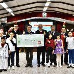 學童喜作幕後英雄 育才國小聖誕傳愛響應難民救援