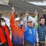 【群募5千份年菜】雲林社會處長林文志為「盲人環台公益路跑」鳴槍揭開序幕