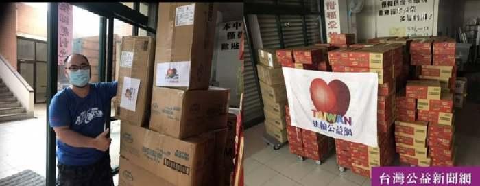 疫起送暖》看到一篇萬華街友報導 72小時即刻行動  台灣扶輪公益網捐助寒士物資 益起防疫