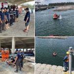 布袋消防分隊加強水域救援能力訓練 提升救援能量